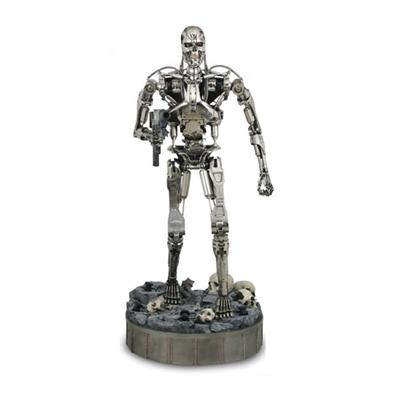Terminator 2 T-800 Endoskeleton Statue Taille Réelle Sideshow