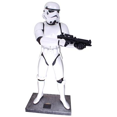 Star Wars Stormtrooper Statue Taille Réelle Don Post