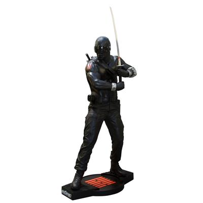 G.I.Joe - Snake Eyes Statue Taille Réelle Oxmox Muckle