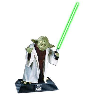 Star Wars Yoda Statue Taille Réelle Rubie's
