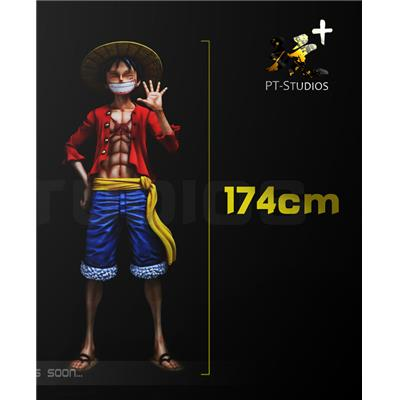 One Piece Monkey D Luffy Statue Taille Réelle PTS