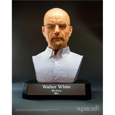 Breaking Bad - Walter White Buste Taille Réelle Supacraft