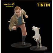 Les Aventures de Tintin - Pack Capitaine Haddock & Tintin & Milou Statues Taille Réelle Weta